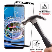 Samsung galaxy S8 TEMPERED GLASS 3D FULL COVER ANTI GORES