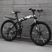 Sepeda Lipat Foldable Mountain Bike MingXu 26