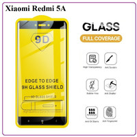 TEMPERED GLASS TG 9D FULL LEM XIAOMI REDMI 5A ANTI GORES KACA