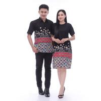 Batik Couple Kemeja Dan Atasan Sarimbit Mama Papa Poduk C009