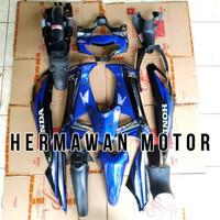 Full Body Honda Supra X 125 Th 2005-2006 Warna Biru
