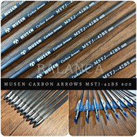 Anak Panah / Arrow Carbon MUSEN 42BS OD5,75mm ID4,2mm Spine 600