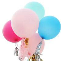 Balon Latex Macaron 24 inch 60 cm / Balon Latex Pastel Jumbo