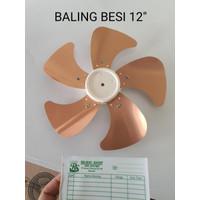 Baling-Baling BESI Kipas Angin MASPION MIYAKO COSMOS 12 ATAU 16 INCH