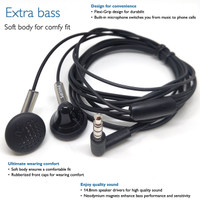 DIY Philips Extra Bass Earphone With Mic Headset Budget Super Sound