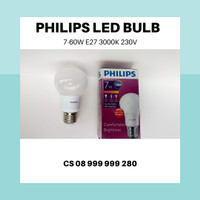 Lampu Bohlam LED Philips Bulb 7 Watt Kuning