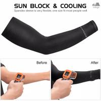 Manset Sepeda Pelindung Tangan Bahan Ice Silk & UV Protection ROCKBROS
