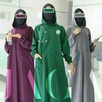 APD Surgical Gown / Hoodie / Model gamis cantik / Bahan waterproof