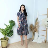 Baju atasan maxi drees davira batik kekinian katun premium