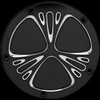 Arlen Ness 03-579 Deep Cut Black Derby Cover