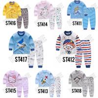 Setelan Baju Celana Tidur Anak Piyama Anak Set Import Murah Tebal
