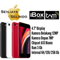 Apple Iphone SE 2 (2020) 64Gb/128Gb/256Gb Garansi Resmi IBOX/TAM