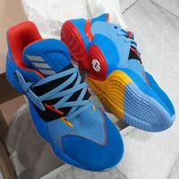 Sepatu Basket Adidas Harden Vol 4 Su Casa OKC Thunder Original Asli