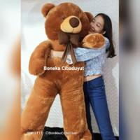 Boneka Teddybear Beruang Super Jumbo 1,2 Meter Bagus