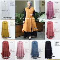BARU !! Long Vest Outer Cerutty / Ceruti Polos model Kancing