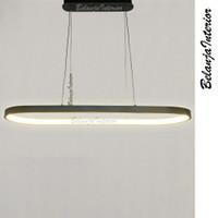 Lampu Gantung LED Loop Pendant Hitam