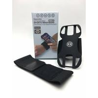 Sports Phone ArmBand Universal Wristbrand Pegangan HP Holder Sepeda