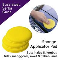 Busa poles serbaguna - polish & wax - Sponge Applicator Pad Circle