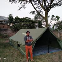 tenda Pramuka 4x6 bahan d300