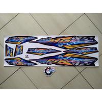 Striping stiker Motor Mio Sporty Thailand Hitam