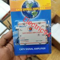Bosster antena tv 2 output / penguat sinyal tv