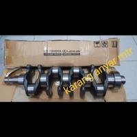 kruk as atau crankshaft hilux vigo 2.5cc 2kd-inova diesel 2kd original