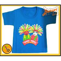 Kaos/Baju/Pakaian Motif Ondel-ondel untuk Anak