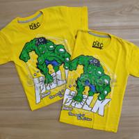 Baju Atasan Kaos Anak Laki Laki Cowok Marvel Superhero Avengers Hulk