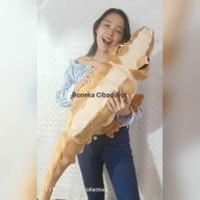 Boneka Buaya Besar 1 meter bagus