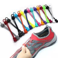 Tali sepatu elastis shoe lock lace laces - Abu-abu