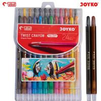 Twist crayons/Crayon putar TiTi 24 warna