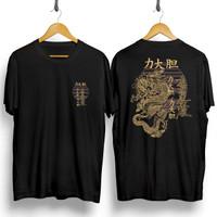 T-shirt Lukisan Naga / Kaos Distro / Pria / Wanita #COD