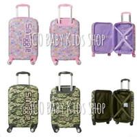 Smiggle Bag Beam 4 Wheel Trolley Travel Suitcase - Tas Koper Anak