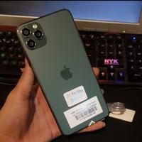 iphone 11 pro max hdc kondisi new fullset full accecories