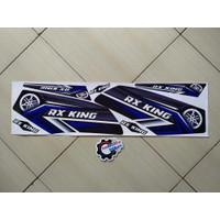 Striping Stiker Variasi Motor Rx King Lis biru