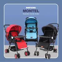 Stroller Babydoes Montel Reversible /Stroller Hadap Ibu