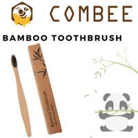 Eco Friendly Sikat Gigi Bamboo / Bambu Natural Alami