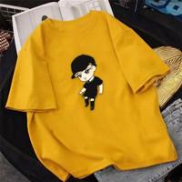 Kaos Atasan Wanita BTS Bahan Lembut Baju Kaos Atasan Wanita Korea JN34