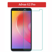 Advan G2 Pro Anti Gores Tempered Glass Screen Protector Clear Bening