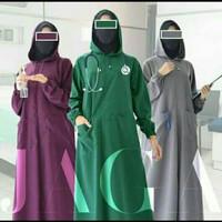 Surgical Gown APD/ HOODIE / Model Gamis Cantik/ Bahan Waterproof