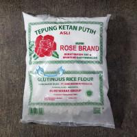 Tepung Ketan Putih Rose Brand 500 Gr MURNI / Glutinous Rice Flour