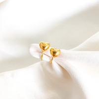Anting Toge anak atau dewasa model love simpel dan elegant emas asli