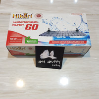 Undergravel Filter 1set 60cm - HIKARI HK-UG60cm - Aksesoris Aquascape