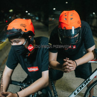 Helm Sepeda JPR New Model Faceshield