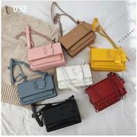 Tas Sling bag Wanita YSL Selempang Pesta Import Murah Style Korea
