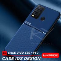 Softcase VIVO Y30 Y50 Case IQS DESIGN - Hitam