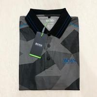 BRAND NEW HUGO BOSS Paddy Pro 3 Grey Polo Shirt New Season AUTHENTIC
