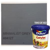 Cat tembok interior Dulux Catylac Minimalis Grey 5 kg