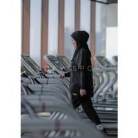 hijab jilbab kerudung bergo olahraga muslim sport non pad
