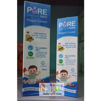 PureBB Pure BB Baby Diaper Cream 100gr 200gr Krim ruam popok bayi